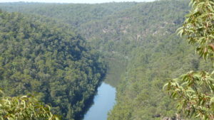 Nepean River lookout