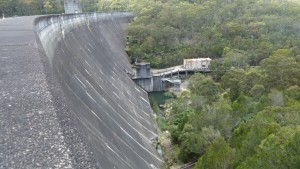 Woronora Dam mountain bike trail